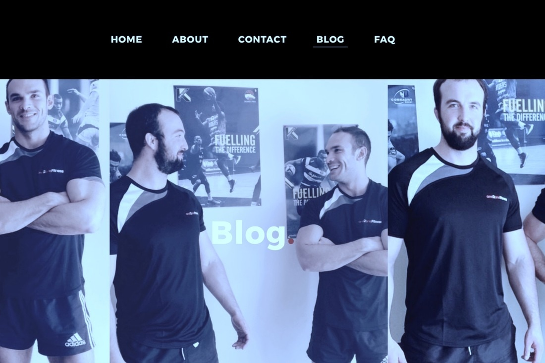 One2one Fitness website